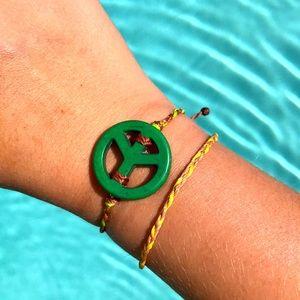 🍇🌿Handmade Adjustable Hippie Bracelet Set🌿🍇